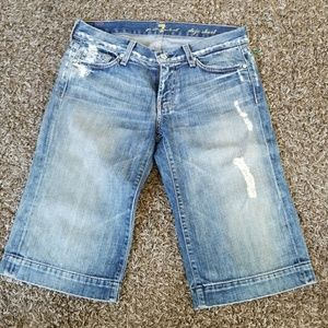 7 for all Mankind Dojo shorts